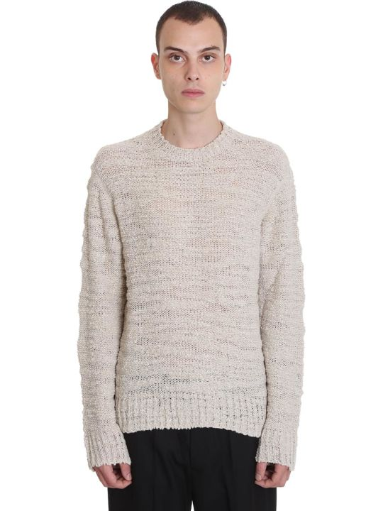 Our Legacy Knitwear In Beige Wool