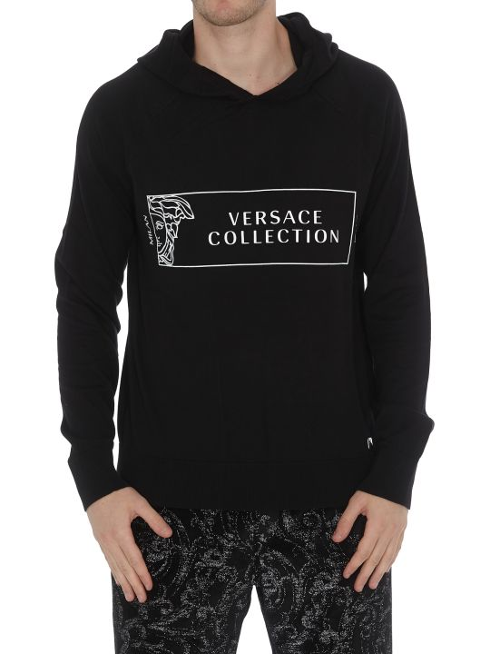 Versace Collection Logo Hoodie