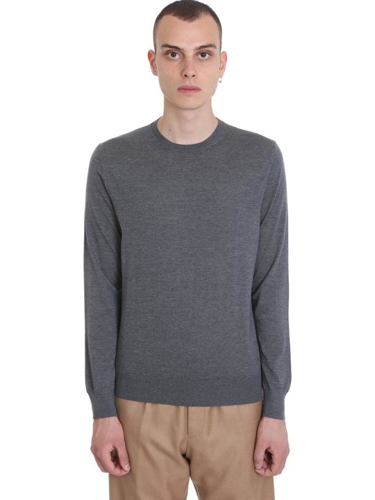 Ermenegildo Zegna Knitwear In Grey Wool