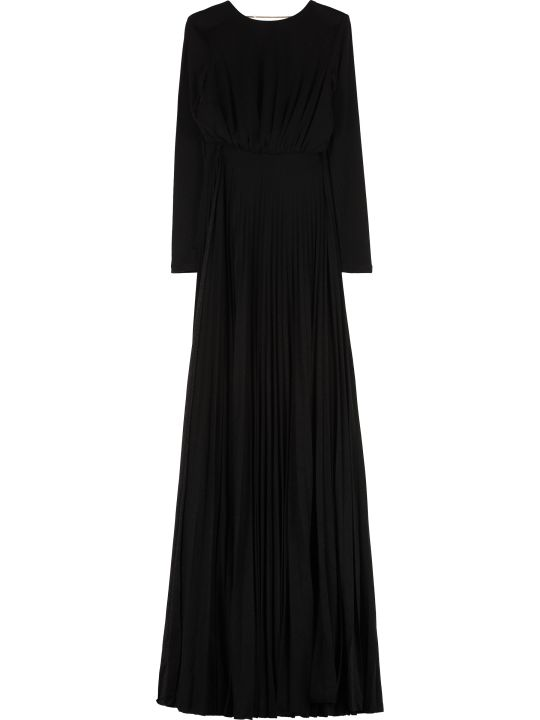 Elisabetta Franchi Celyn B. Lurex Jersey Long Dress