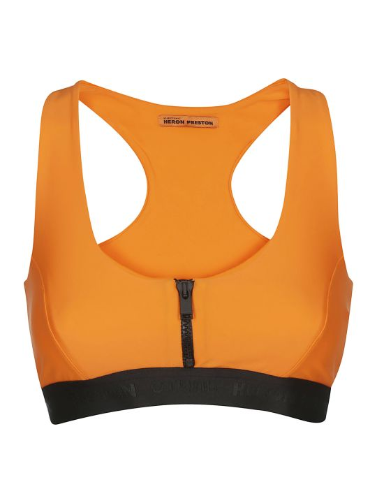 HERON PRESTON Zipped Sports Bra