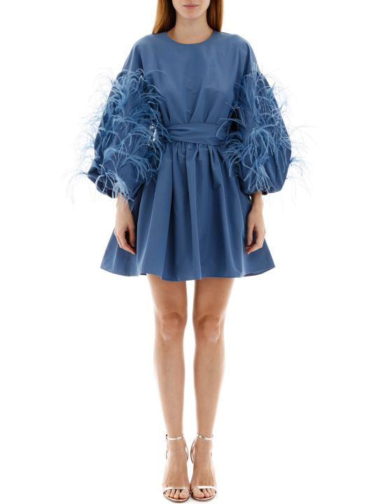 Valentino Feather Mini Dress