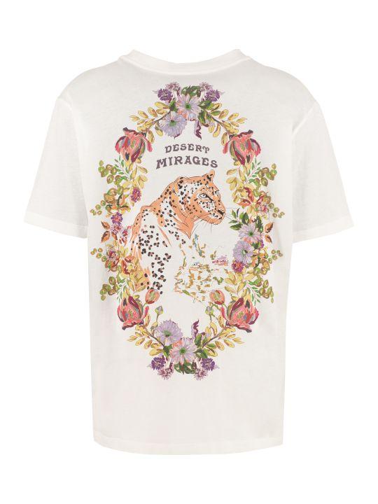 Etro Crew-neck Cotton T-shirt