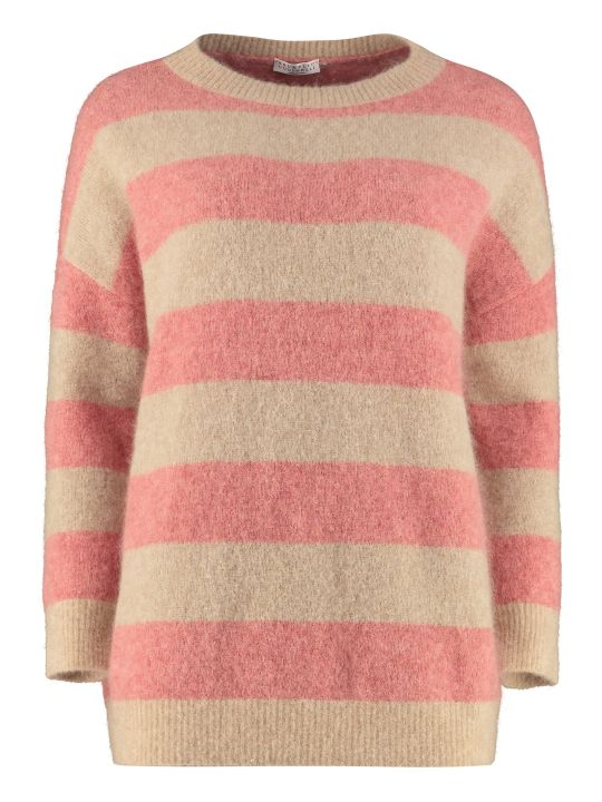 Brunello Cucinelli Wool-mohair Sweater