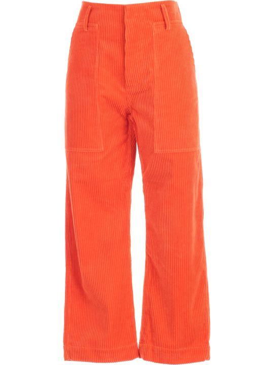 Sofie d'Hoore Pants Straight 2 Patched Pockets