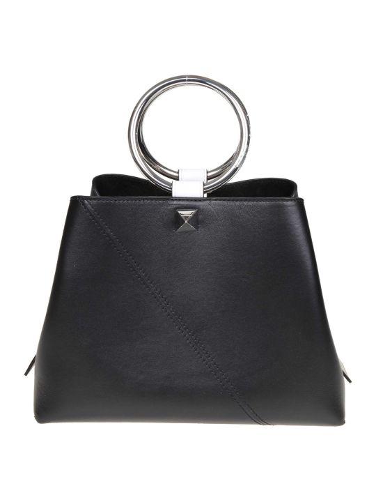 Salar Handbag Polly In Black Leather