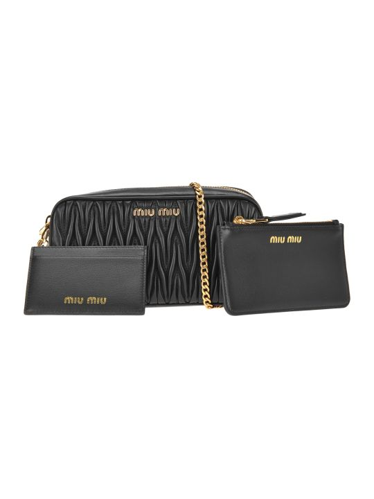 Miu Miu Mini Trio Chain Bag