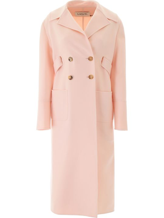 Lanvin Cashmere And Cotton Coat
