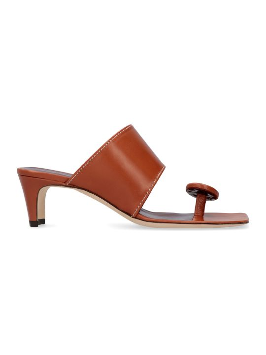 STAUD Luca Leather Mules