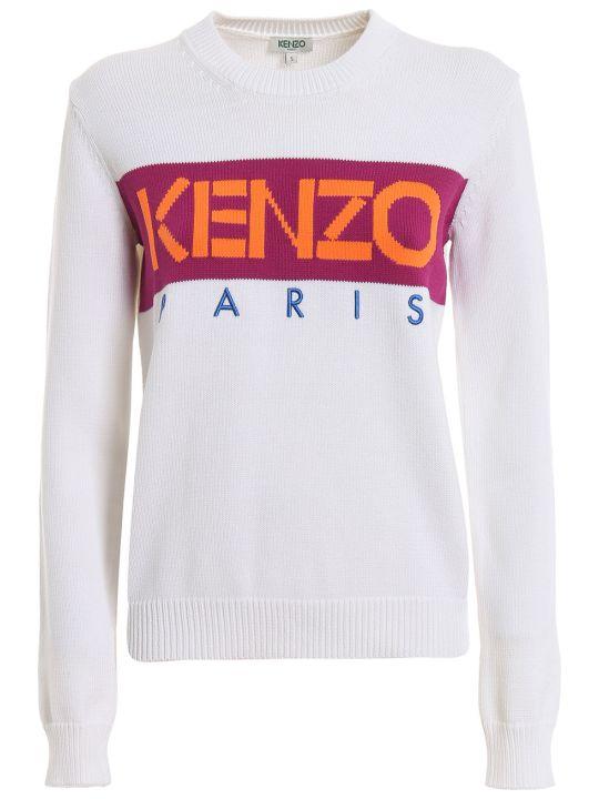 Kenzo Contrast Logo Sweater