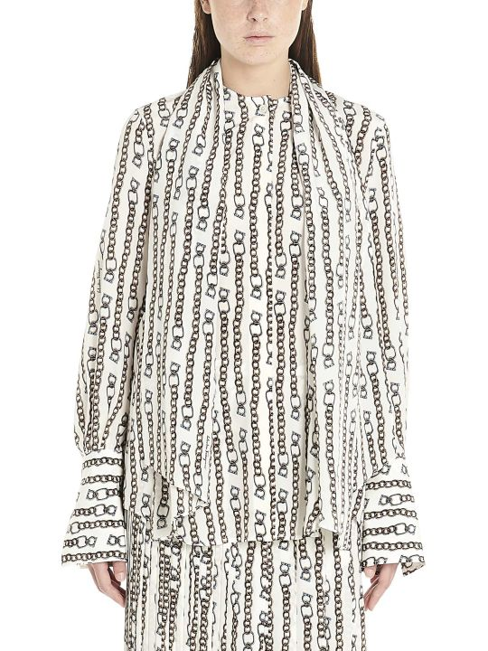 Salvatore Ferragamo 'chain' Shirt
