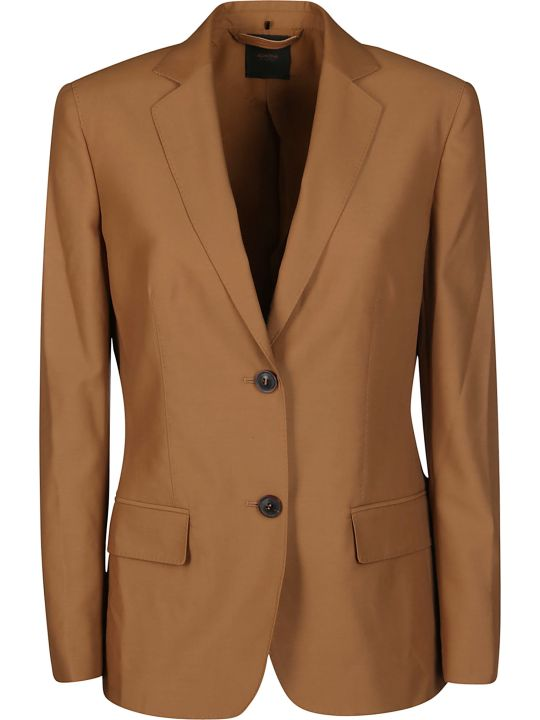 Agnona Single-breasted Fitted Blazer
