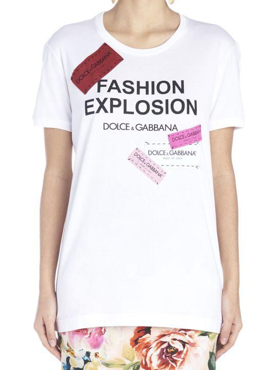 Dolce & Gabbana 'fashion Explosion'  T-shirt