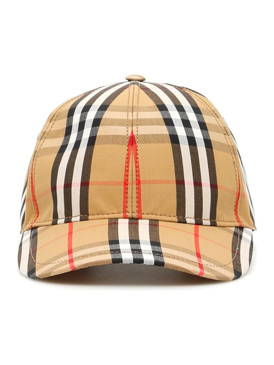 Burberry Check Baseball Cap
