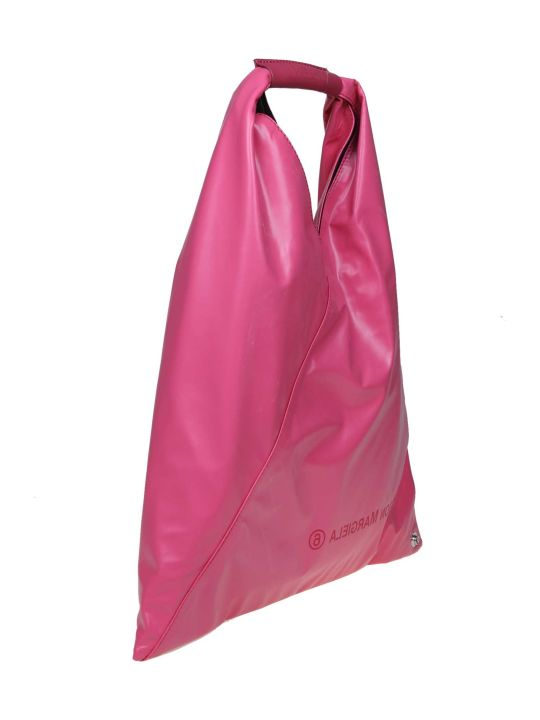 MM6 Maison Margiela Japanese Leather Bag Fucsia Color