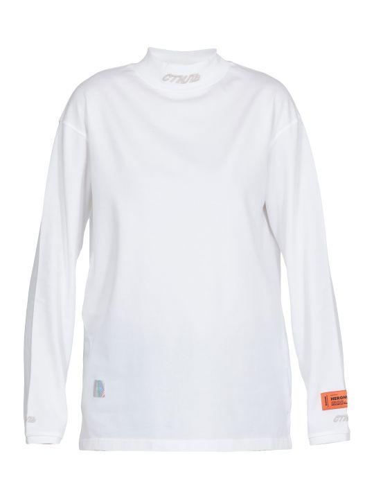 HERON PRESTON Fitted T Shirt