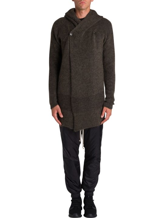 Rick Owens Fisherman Hooded Cardigan