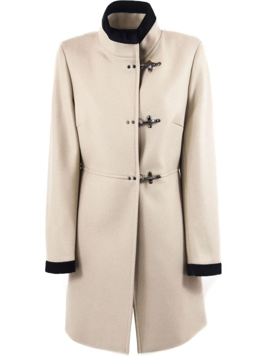 Fay Beige Virgin Wool-cashmere Jacket