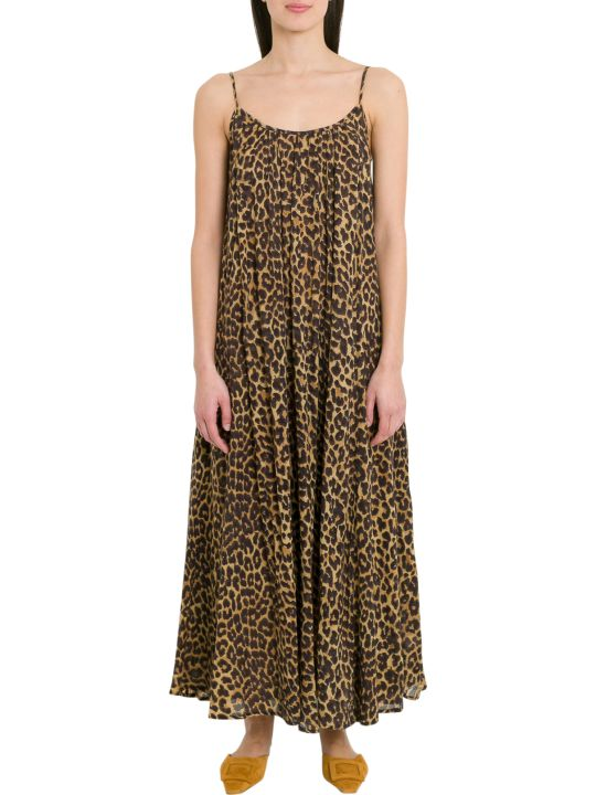 Mes Demoiselles Fetiche Leopard Printed Dress