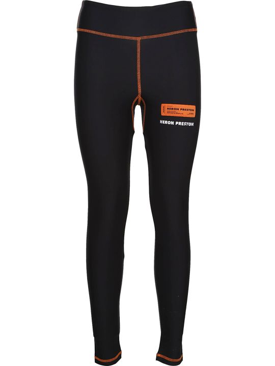 HERON PRESTON Logo Print Leggings