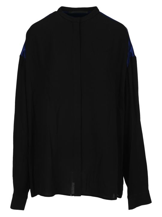 Haider Ackermann Contrast Panel Shirt