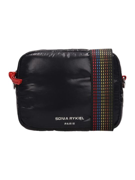 Sonia Rykiel Black Nylon Camera Bag
