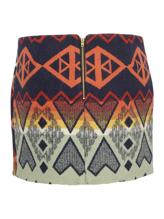 Jessie Western Water Arrow Mini Skirt