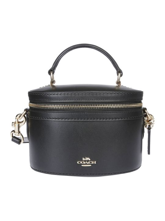 Coach Round Box Shaped Shoulder Bag