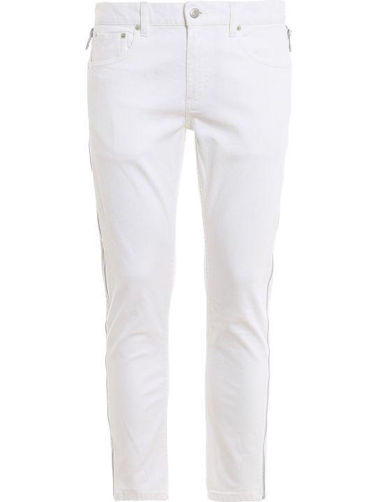 Alexander McQueen Side Zip Jeans