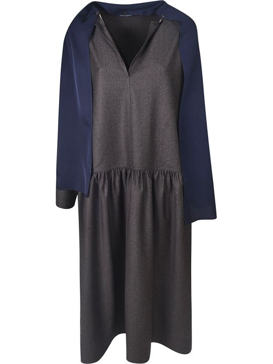 Sofie d'Hoore V-neck Scarfed Dress