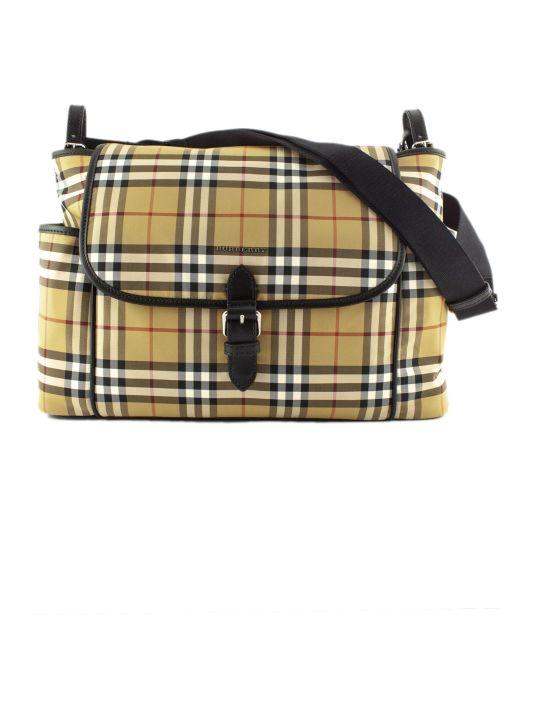 Burberry Vintage Check Baby Changing Shoulder Bag