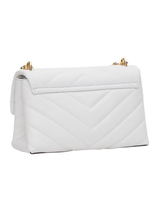 MICHAEL Michael Kors Cece Md Cnv Chain Shoulder Bag Gold Hardware