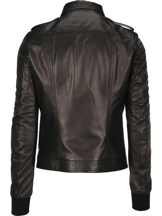 Rick Owens Rotterdam Leather Jacket