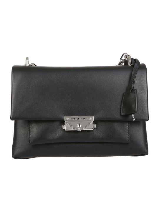 8c68a5c341e9 Michael Kors Michael Kors Rivington Black Leather Wallet With Studs ...
