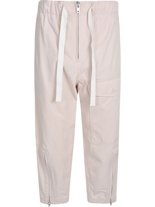 Y's Multi-zipped Cropped Trousers