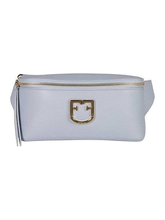 Furla Logo Plaque Shoulder Bag