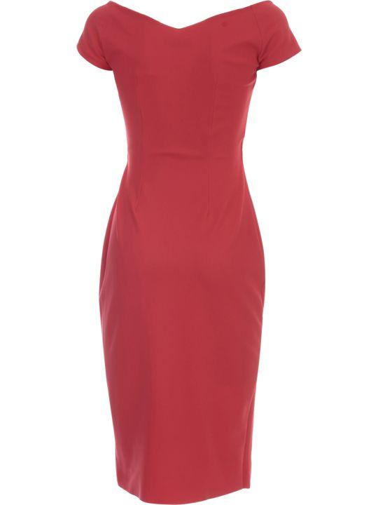 La Petit Robe Di Chiara Boni Dress Wide Neck W/naked Shoulder