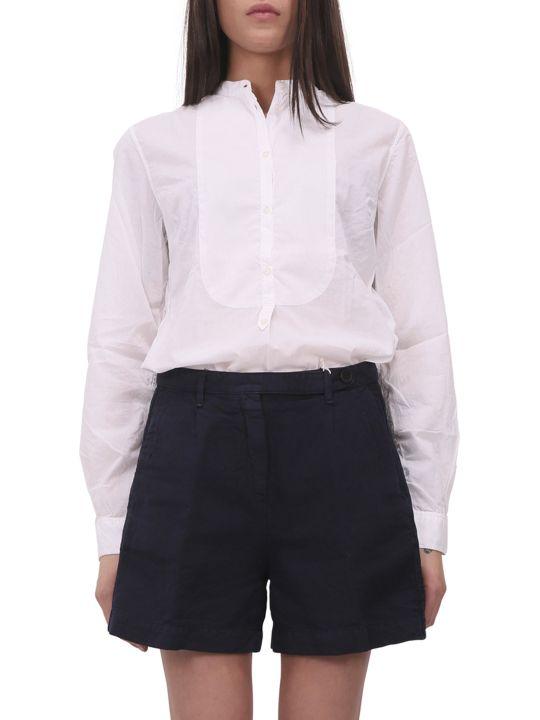 Massimo Alba White Violet Shirt
