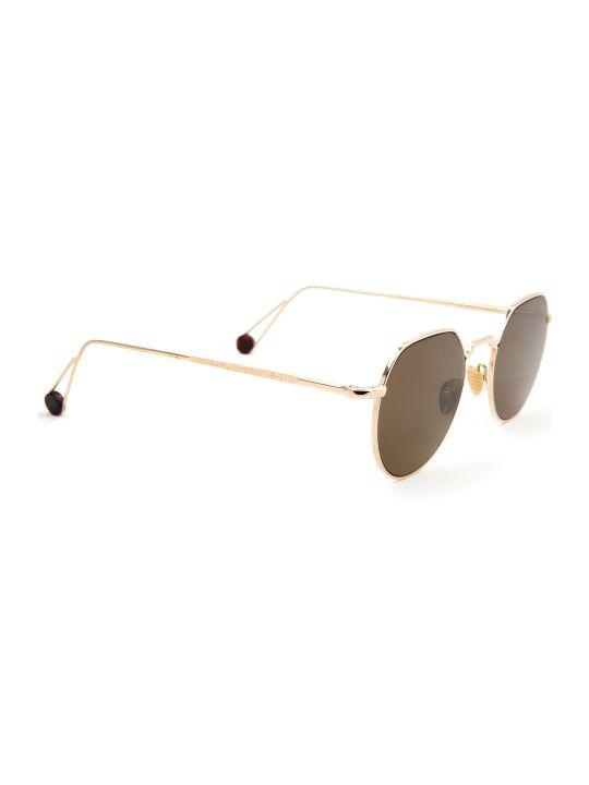 AHLEM Ahlem Place Dauphine Champagne Sunglasses