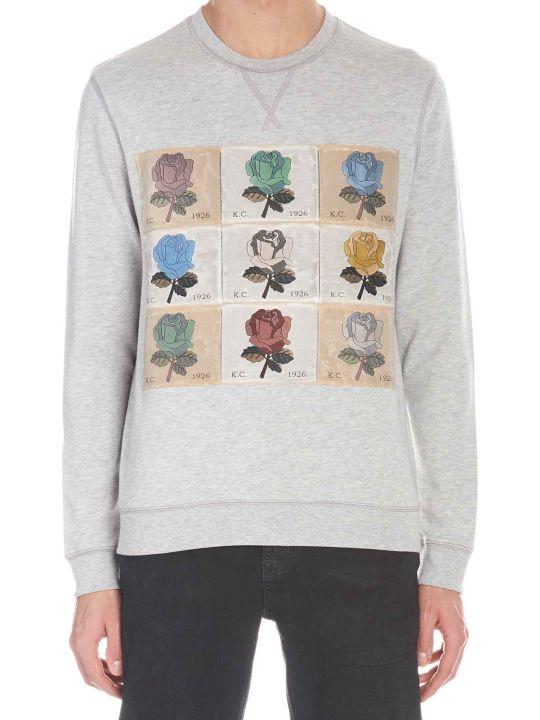 Kent & Curwen 'roses' Sweatshirt