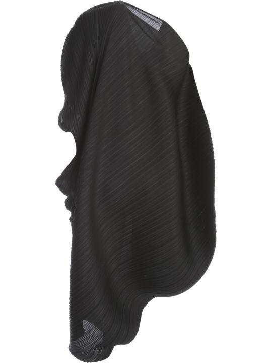 Pleats Please Issey Miyake Dress Crew Neck Asymmetric