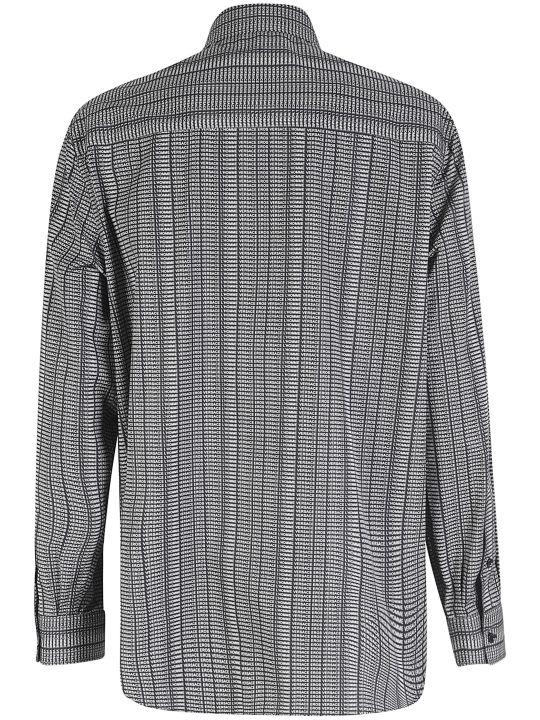Versace All-over Logo Printed Shirt