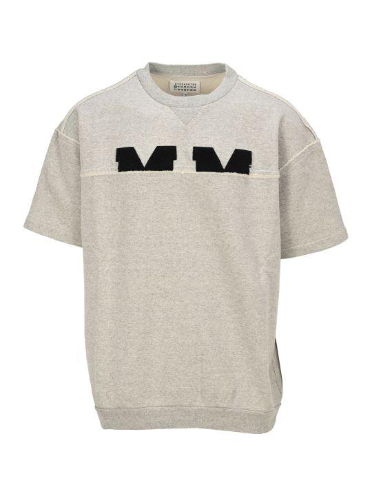 Maison Margiela Martin Margiela Embroidered Logo Sweatshirt