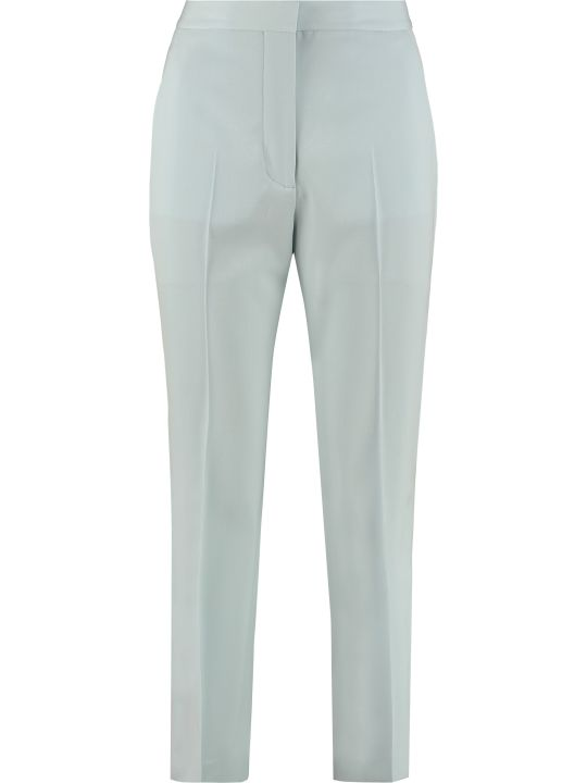 Stella McCartney Wool Straight-leg Trousers