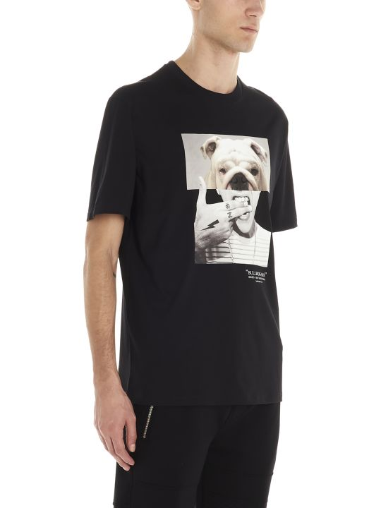 Neil Barrett 'bull Dog Man' T-shirt
