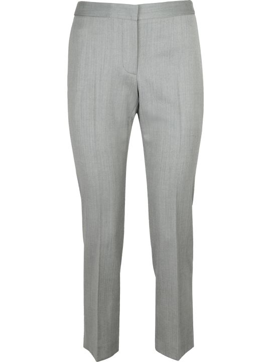Alexander McQueen Wool Straight-leg Trousers
