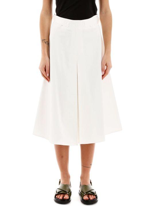 Marni Cotton Satin Skirt