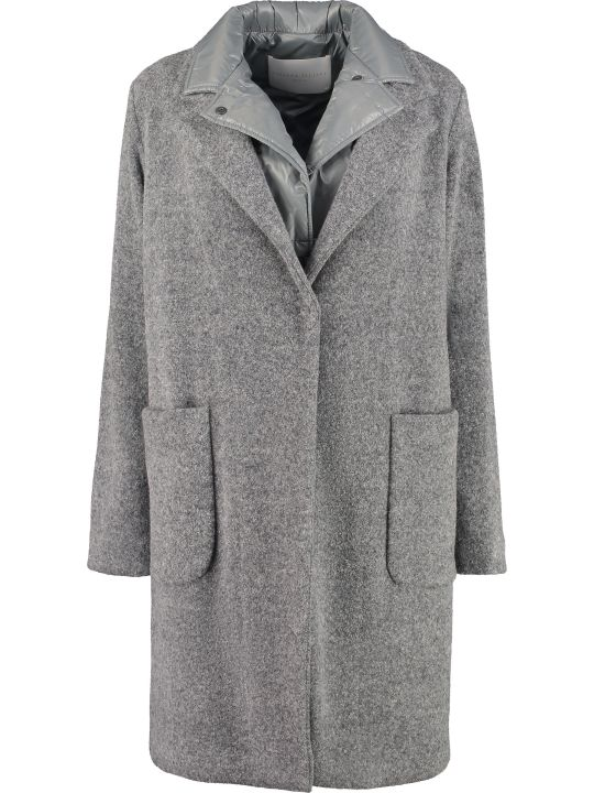 Fabiana Filippi Coat With Removable Inner Vest