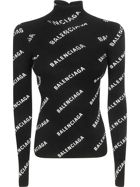 Balenciaga Open Back Sweater