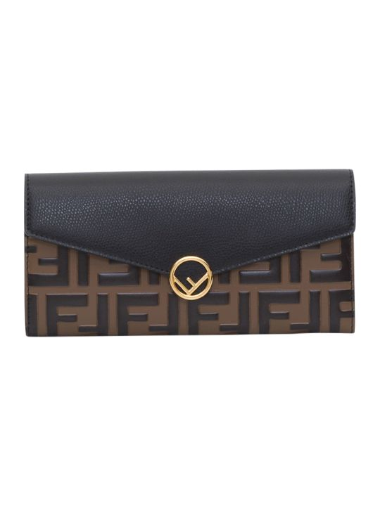 Fendi F Is Fendi Continental Wallet